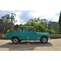 Jeep Willys Ford F75 Cabine Dupla 3 Portas Modelo Rarissimo.
