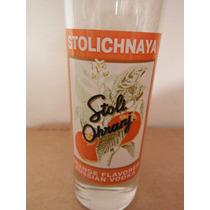 Vaso Shot Rusia Stolichnaya Naranja Vodka Europa Bar Orange