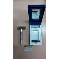 Máquina De Afeitar Metálica Para Hojas Gillette (sin Envío)