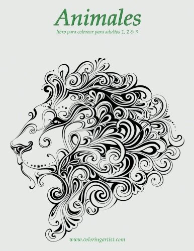 Libro : Animales Libro Para Colorear Para Adultos 1, 2 ...