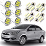 Kit Lampada Super Led Fiat Grand Siena 2012 2013 2014 2015