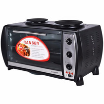 Horno Electrico Ranser 60lts 2 Anafes Pro Ctas S/int