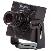Mini Câmera Tecvoz Day Night Ccd Sony 1/3 420tvl - Mcs-420fr