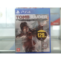Tomb Raider Definitive Edition Em Português Mídia Física Ps4