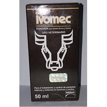 Ivomec [1% Ivermectina] Para Bovinos Y Porcinos 50 Ml.