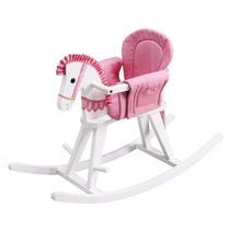 2en1 Caballito Montable Mecedor Caballo Infantil Bebé Madera