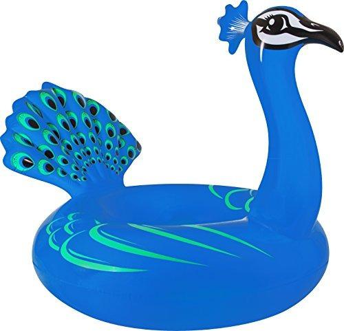 79f269e60 Flotador De Piscina Pavo Real Color Azul 61 Coconut Float -   170.550 en  Mercado Libre