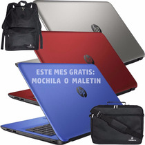 Baratisima Laptop Hp 15 Intel Quad 2.4 +q Core I3 Dvd T.num