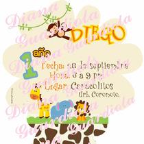 Kit Imprimible De Los Animalitos De La Selva
