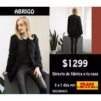 *fashionstore* $1299 Abrigos Fur Pelo Glamour Otoño Invierno