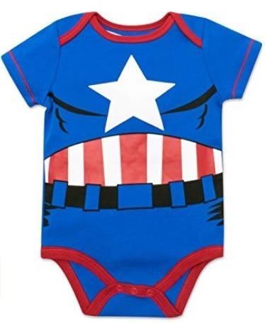 Marvel Capitan America Body Bebe Niño 18 Meses Halloween - S  45 62b06c86fcf