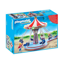 Playmobil Carrusel Con Columpios Voladores (5548)