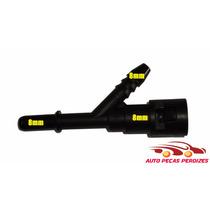 Conector Engate Rapido Gasolina ( Y ) 8mm X 8mm X 8mm