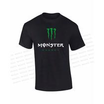 Camisetas Monster Energy Drink