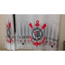 Cortina Do Corinthans Futebol Clube +brinde Extra