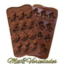 Molde Forma De Silicone Dinossauros Chocolate Gelo Sabonete