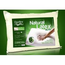 12 Travesseiros 100% Látex Natural Alto 50 X 70cm - Duoflex