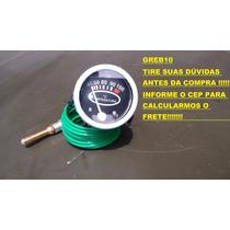 Relógio Indicador Temperatura Mercúrio Mecânico Motor Paine