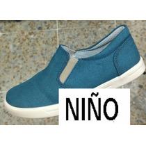 Zapato Azul Para Niño Y Juvenil Calzado Moda Envio Gratis