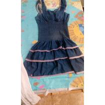 Original Vestido Vaquero Muy Femenino Y Ligero