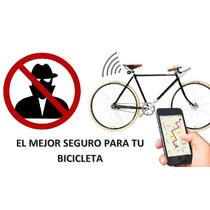 Rastreador Anti Robo Bicicleta Luz Trasera Gps + Gsm - Sms