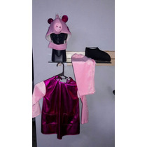 Disfraz Peppa Pig Cerdita Rosa Niña 3 Años Tallas Pepa Rosa