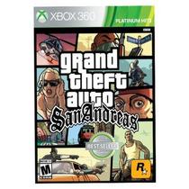 Game Xbox 360 Grand Theft Auto San Andreas Gta