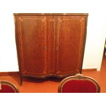 Mueble Antiguo Bargueño Frances Comedor Decoración
