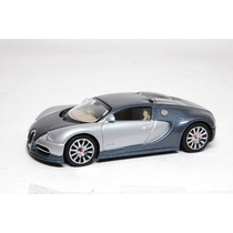 Bugatti Eb 16.4 Veyron Showcar Gris Plata Autoart Auto Art