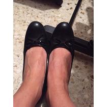 Zapatos Negros Predictions T. 4 Tacón Medio C/ Moño Coquetos