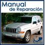Jeep Cherokee Liberty 2002-2007 Manual De Taller En Inglés