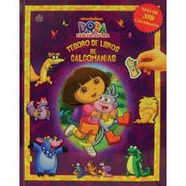 Tesoro De Libros De Calcomanias: Dora La Exploradora