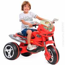 Super Moto Elétrica Gt2 Turbo Infantil Menino Bandeirante