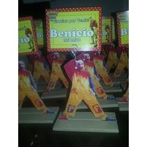 Souvenirs En Fibrofacil Piñon, Minnie, Mickey, Sapo Pepe,