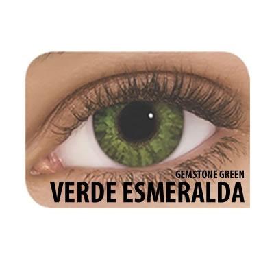 7ed72448bb571 Lentes De Contato Freshlook Colorblends Esmeralda - Sem Grau - R  35 ...