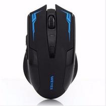 Mouse Raton Gamer Inalambrico Wifi Recargable 2400dpi 800mah