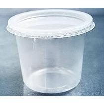 Pote Para Sorvete Descartável - 250 Ml Rioplastic Cx C/25und