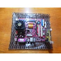 Abaixou :kit Placa-mãe Pcchips M825g + Amd Duron 900 + 1gb M