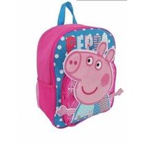 Mochila Escolar Infantil Peppa Pig - Pronta Entrega