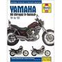 Manual De Taller Haynes Yamaha Virago (xv) 1981-2003 A Color