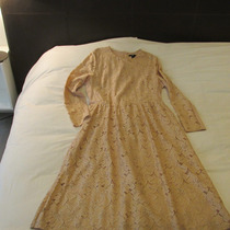 Vestido De Fiesta Coctel Encaje Hermoso!!! Americano
