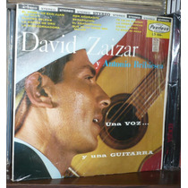 David Zaizar Lp Una Voz Y Una Guitarra Con Antonio Bribiesc
