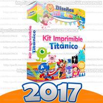 Kit Imprimible Titanico 2017 Nueva Actualización Recuerditos