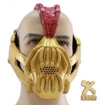 Bane Máscara Hierro Versión De Halloween Máscara Cosplay Pr