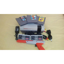 Nintendo Nes Con Trilogia De Mario Bros 1,2,3