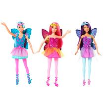 3 Bonecas Barbie Mix & Match Fadas Mattel Cff32 Oficial