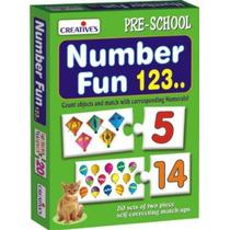 Juego Preescolar Creativo Actividad Para Aprender Números
