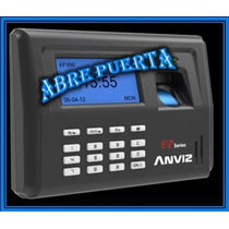 Control Acceso Y Asistencia Biometrico Ep300 Anviz Abre Puer