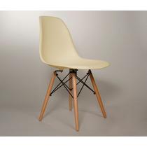 Silla Eames 17 Colores A Elegir Base Madera O Metal Buen Fin