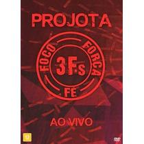 Dvd 3fs Projota Foco, Força, Fé Ao Vivo